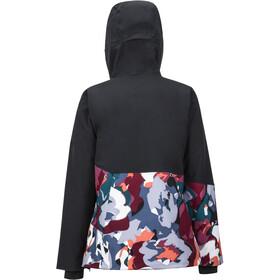Marmot Pace Veste Femme, black/multi pop camo